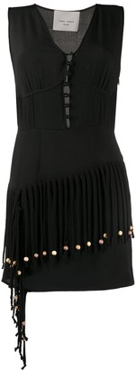 Frankie Morello Fringed Mini Dress