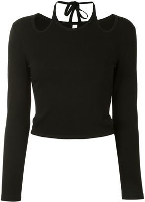 Dion Lee Cut-Out Detailed Top