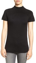 Vince Camuto Embellished Short Sleeve Sweater (Regular & Petite)