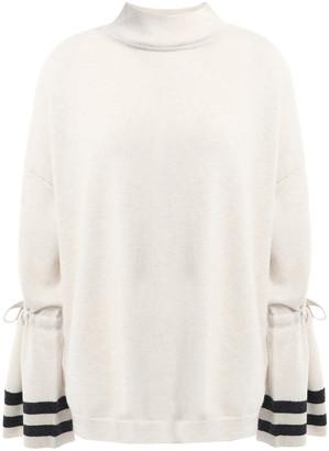 Charli Striped Merino Wool Sweater
