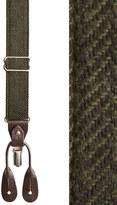 Trafalgar Men's Convertible Tweed Suspenders