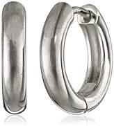 Zina Sterling Snap Hoop Earrings