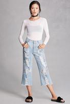 Forever 21 FOREVER 21+ Rehab Frayed Ankle Jeans