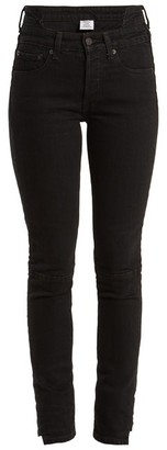 Vetements X Levi's Reworked High-rise Skinny-leg Jeans - Black