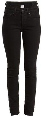 Vetements X Levi's Reworked High-rise Skinny-leg Jeans - Womens - Black