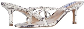 Steve Madden Lolla Heeled Sandal (Beige Snake) Women's Shoes