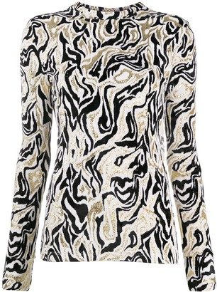 Paco Rabanne Abstract Pattern Top