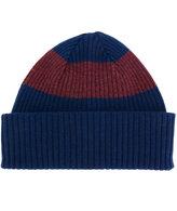 Paul Smith stripe beanie hat