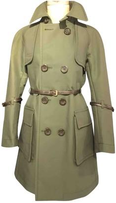 DSQUARED2 Khaki Cotton Trench Coat for Women