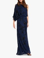 Phase Eight Shirley Embellished Dress, Sapphire