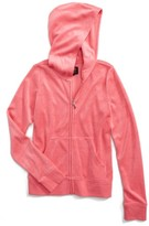 Juicy Couture Girl's Robertson Microterry Hoodie