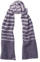 Ralph Lauren Striped Wool Blanket Scarf