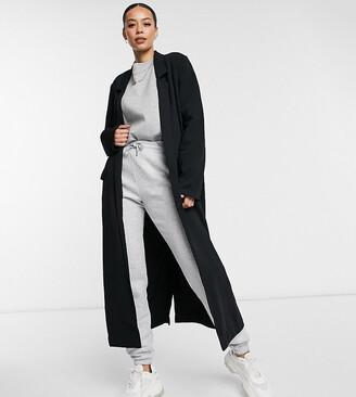 Asos DESIGN Tall soft duster in black