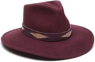 Ale By Alessandra 'Ale By Alessandra 'ale by alessandra Women's Cobra Adjustable Felt Hat with Suede Trim