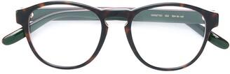 Gucci Tortoiseshell Round Frame Glasses