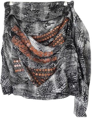 Edun Grey Silk Skirts