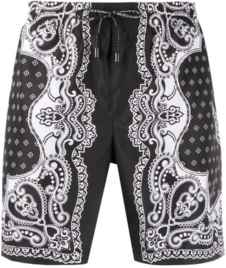 Dolce & Gabbana Bandana print swim shorts