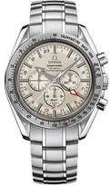Omega Men's 3581.30.00 Speedmaster Broad Arrow GMT Automatic Chronometer Chronograph Dial Watch
