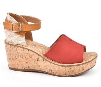 White Mountain Wedge Sandals - Sarabella