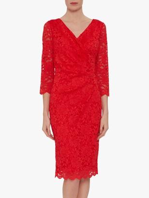 Gina Bacconi Lyria Wrap Dress