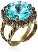 Sorrelli Haute Halo Ring, Size 7-9