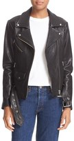 Veda Women's 'Jayne' Lambskin Leather Moto Jacket