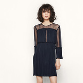 Maje Short lightly pleated dress