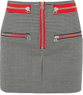 Isabel Marant Layla Stretch-wool Mini Skirt - Black