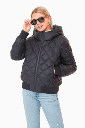 Soia & Kyo Black Senna Puffer Jacket
