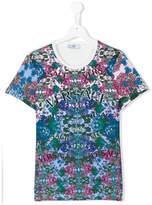 Versace teen floral print T-shirt
