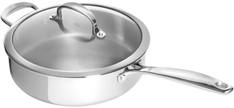 OXO Good Grips Tri-Ply Stainless Steel 4 qt. Covered Saute Pan with Helper Handle