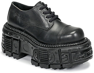 New Rock NIKI women's Smart / Formal Shoes in Black