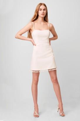 French Connenction Whisper Pom Pom Strappy Dress