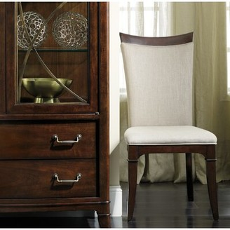 Hooker Furniture Palisade Upholstered Dining Chair in Linen (Set of 2