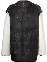 Raf Simons Oversized Shell Hooded Down Jacket - Black