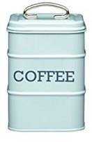 Kitchen Craft Living Nostalgia Coffee Storage Canister, 11 x 17 cm - Vintage Blue