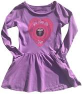 Rowdy Sprout Heart Spin Pocket Dress - Purple, Size 3-6m