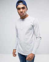G Star G-Star Riban Long Sleeve Top in Grandad Collar
