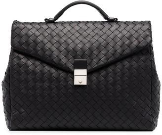 Bottega Veneta Intrecciato woven briefcase