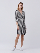 Diane von Furstenberg New Julian Two Silk Jersey Wrap Dress