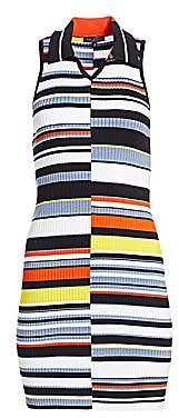 Rag & Bone Women's Mason Striped Sleeveless Knit Dress