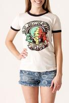 Junk Food Clothing Grateful Dead Ringer Tee