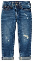 Ralph Lauren Boys' Slim-Fit Distressed Jeans - Little Kid