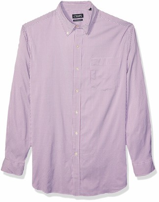Chaps Men's Big and Tall Long Sleeve Performance Button Down Shirt