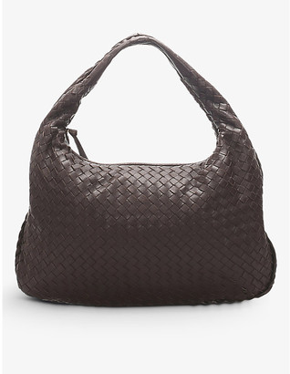 Resellfridges Pre-loved Bottega Veneta Intrecciato leather hobo bag