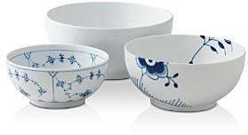 Royal Copenhagen History Mixing Bowl, Set of 3