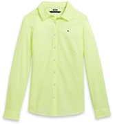 Tommy Hilfiger Final Sale- Neon Stripe Oxford Shirt