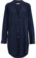 Equipment Keira Washed-Silk Shirt Dress