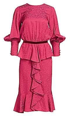 Johanna Ortiz Women's Harlem Renaissance Peplum Dress