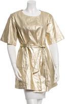 Kate Spade Short Sleeve Metallic Jacket